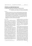 Ảnh hưởng của tổ hợp phân bón vô cơ và mật độ gieo trồng đến sinh trưởng và năng suất giống đậu tương ĐT51 tại Thái Nguyên