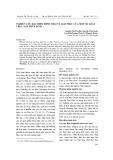 Nghiên cứu đặc điểm hình thái và giải phẫu của một số loài thực vật thủy sinh