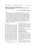 Nghiên cứu một số yếu tố ảnh hưởng đến quá trình trích ly hàm lượng polysaccharide toàn phần trong nấm Linh chi đỏ