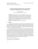 So sánh quy định về xử phạt hành vi tham nhũng trong Quốc triều hình luật và Đại Minh luật