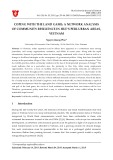 Coping with the land game: A network analysis of community resilience in Hue's peri urban areas, Vietnam