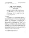 Dấu hiệu tan rã ý thức hệ Nho giáo trong một số văn bản tuồng của Đào Tấn
