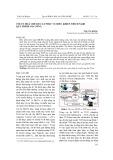 Tối ưu hoá chế độ cắt phục vụ điều khiển thích nghi quá trình gia công