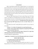 Tóm tắt Luận văn Thạc sĩ Ngân hàng: Giải pháp phát triển hoạt động tín dụng bán lẻ tại ngân hàng TMCP Ngoại thương Việt Nam chi nhánh Thăng Long
