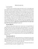 Tóm tắt Luận văn Thạc sĩ Ngân hàng: Quản trị rủi ro tín dụng thể nhân tại Sở Giao dịch Ngân hàng TMCP Ngoại thương Việt Nam