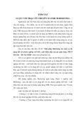 Tóm tắt Luận văn Thạc sĩ Ngân hàng: Giải pháp Marketing cho dịch vụ tín dụng đối với doanh nghiệp chế biến, xuất khẩu thủy sản tại ngân hàng TMCP Sài Gòn – Hà Nội (SHB)