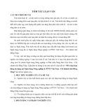 Tóm tắt Luận văn Thạc sĩ Ngân hàng: Mở rộng hoạt động tín dụng tại Ngân hàng Nông nghiệp & PTNT Việt Nam - Chi nhánh tỉnh Đồng Tháp