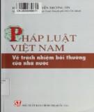 Trách nhiệm bồi thường của nhà nước trong Pháp luật Việt Nam: Phần 2