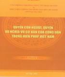 Hiến pháp Việt Nam và quyền con người, quyền và nghĩa vụ cơ bản của công dân: Phần 2