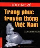 Trang phục truyền thống Việt Nam -Các vấn đề hỏi và đáp: Phần 1