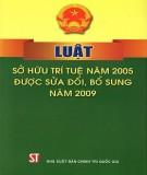 Luật Sở hữu trí tuệ năm 2005 (Được sửa đổi bổ sung năm 2009): Phần 1