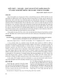 Kiến thức - thái độ - thực hành về sức khỏe sinh sản của học sinh phổ thông trung học Tp.HCM năm 2004