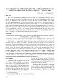 Các đặc điểm về nhận biết, điều trị và kiểm soát huyết áp của bệnh nhân tăng huyết áp ở quận 4 - Tp HCM - 2004