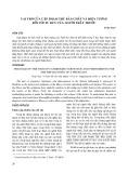 Vai trò của cặp phạm trù bản chất và hiện tượng đối với tư duy của người thầy thuốc