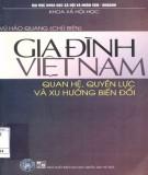 Quan hệ, quyền lực và xu hướng biến đổi trong các gia đình Việt Nam: Phần 1