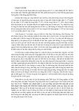 Báo cáo tổng kết đề tài: Nghiên cứu chuyển dịch cơ cấu cây trồng, vật nuôi trên vùng đất cát ven biển huyện Cẩm Xuyên, Hà Tĩnh theo hướng thâm canh, chuyên canh, tạo vùng sản xuất hàng hoá