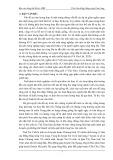 Báo cáo tổng kết đề tài: Chọn thuần và phục tráng các giống lúa chủ lực CL 8 và OM2395 là điều cần thiết và cấp bách