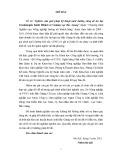 Báo cáo tổng kết đề tài: Nghiên cứu giải pháp kỹ thuật nuôi dưỡng rừng dẻ ăn hạt (Castanopsis boisii Hickel et Camus) tại Bắc Giang