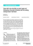 Giao dịch của nhà đầu tư nước ngoài với thông báo chia tách cổ phiếu trên thị trường chứng khoán Việt Nam
