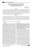 Một vài nhận xét về mối quan hệ giữa chúa Nguyễn Ánh - vua Gia Long với người Khmer Nam Bộ