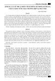 Áp dụng các kỹ thuật phân tích thống kê trong đánh giá chất lượng nước mặt: Trường hợp tại Trà Vinh