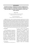 Intercultural communication competence from an identity constructionist perspective and its implications for foreign language education