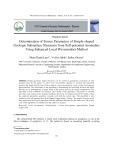 Determination of source parameters of simple shaped geologic subsurface structures from self potential anomalies using enhanced local wavenumber method