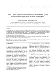 Max - min composition of linguistic intuitionistic fuzzy relations and application in medical diagnosis