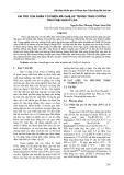 Vai trò nhân tố phiên mã OsNLI-IF trong tăng cường tính chịu hạn ở lúa