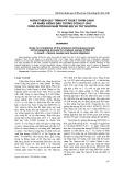Hoàn thiện quy trình kỹ thuật thâm canh và nhân giống đậu tương DTDH.01 cho vùng Duyên hải Nam Trung Bộ và Tây Nguyên