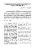 Nghiên cứu chức năng talome của vi khuẩn Xanthomonas.oryzae pv. oryzae gây bệnh bạc lá