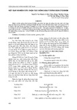 Kết quả nghiên cứu chọn tạo giống đậu tương đen ĐT2008ĐB