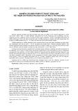 Nghiên cứu biện pháp kỹ thuật tổng hợp tiết kiệm chi phí đầu vào đối với cà phê ở Tây Nguyên