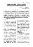 Nghiên cứu khả năng tích lũy chì và cadimi trong cây cà chua (Lycopersicon esculentum mill)