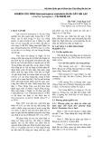 Nghiên cứu nấm Neocosmospora vasinfecta Smith gây hại lạc (Arachis hypogaea L) tại Nghệ An