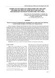 Nghiên cứu xây dựng quy trình phòng trừ tổng hợp sâu bệnh hại trên cây hành tím từ sản xuất tới bảo quản sau thu hoạch tại Vĩnh Châu, Sóc Trăng