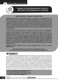 Nghiên cứu thực nghiệm nâng cao một số tính chất của bê tông nhẹ cốt liệu rỗng