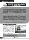 Tính toán kết cấu giàn khoan tự nâng 400ft chịu tải trọng động đất, điều kiện động đất tại biển Nam Việt Nam