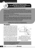 Xác định các thông số cơ bản của thiết bị công tác và lựa chọn máy cơ sở đối với máy đào rãnh hẹp