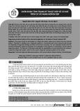 Chẩn đoán tình trạng kỹ thuật hộp số cơ khí trên cơ sở mạng nơron RBF