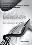 Giải pháp thực hiện mua bán nợ xấu theo giá trị thị trường của VAMC