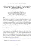 Nghiên cứu sự phù hợp của cấp phối vật liệu áo đường bê tông nhựa trong điều kiện thời tiết cực đoan khu vực Bắc Trung Bộ