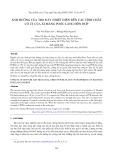 Ảnh hưởng của tro đáy nhiệt điện đến các tính chất cơ lý của xi măng Poóc lăng hỗn hợp