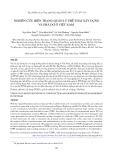 Nghiên cứu hiện trạng quản lý phế thải xây dựng và phá dỡ ở Việt Nam