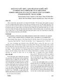 Khảo sát kiến thức, thái độ, hành vi hiểu biết và phòng ngừa nhiễm HIV ở các đối tượng nghiện chích ma túy tại các trung tâm cai nghiện tỉnh Bình Phước tháng 10-2004