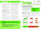 Tóm lược kiến nghị chính sách an toàn thực phẩm ở Việt Nam