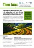 Tóm lược khuyến nghị chính sách phát triển nông thôn mới Việt Nam