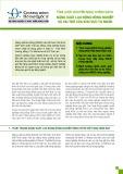 Tóm lược khuyến nghị chính sách năng suất lao động nông nghiệp và vai trò của khu vực tư nhân