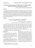 Khảo sát tình trạng di căn thầm lặng của hạch limphô trong carcinôm tuyến ở đường tiêu hóa