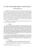 Các yếu tố sóng hợp trong ca dao xứ Quảng